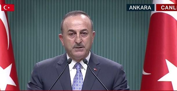 SON DAKİKA HABERİ: Bakan Çavuşoğlu açıklama yapıyor