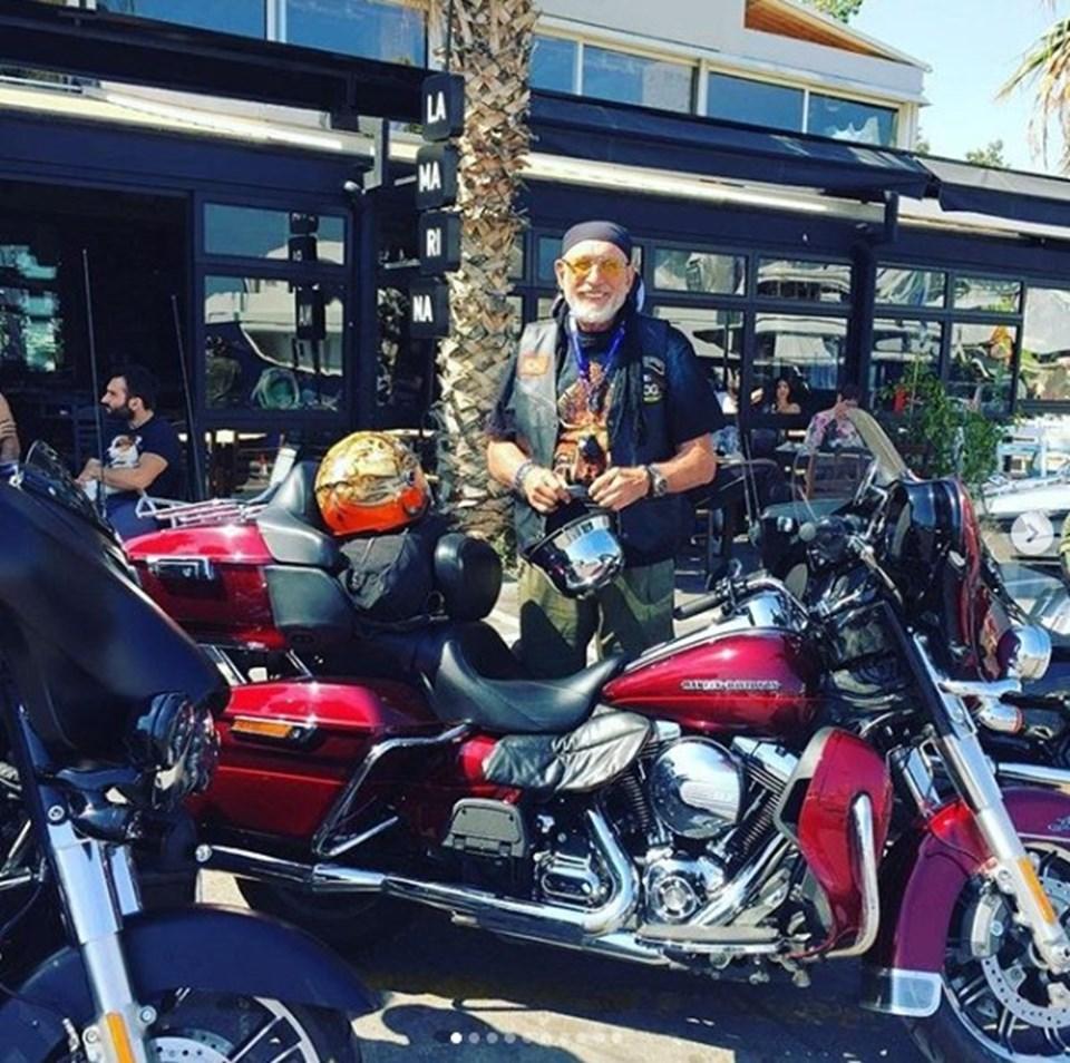 İsmet Badem motosiklet sevgisiyle biliniyordu.