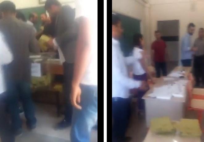 Sosyal medyada, video görüntüleriyle birlikte, Suruç'ta blok oy kullandıldığı iddiası gündeme taşındı.