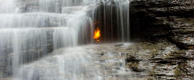 'Sonsuz Ateş Şelalesi'nin sırrı çözüldü
