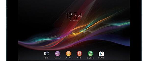 Sony'den tablet atağı