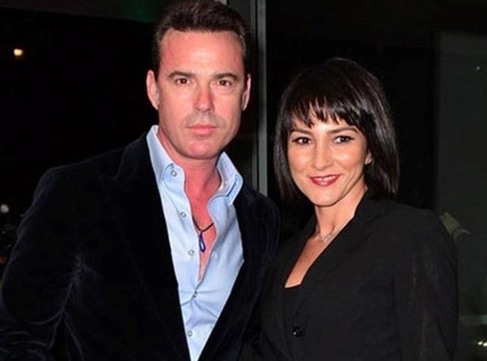 Murat Başoğlu ve eski eşi Hande Bermek