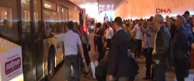 Taksim alt geçidinde ilk ölümlü kaza
