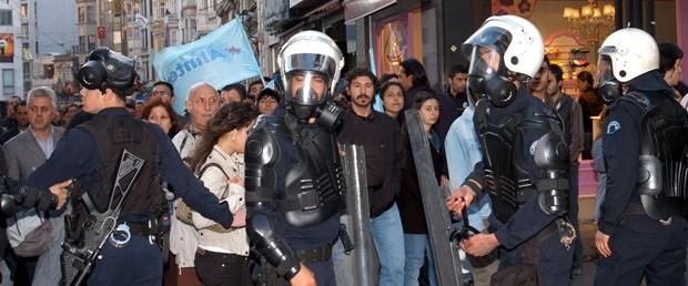 Taksim için Taksim yürüyüşüne polis engeli