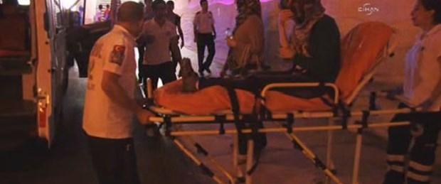 Taksim'de turistlere gasp
