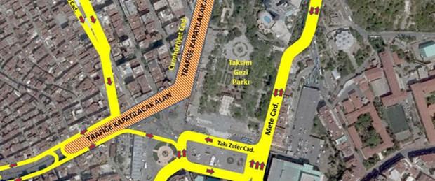 Taksim'e Topçu Kışlası'na ret