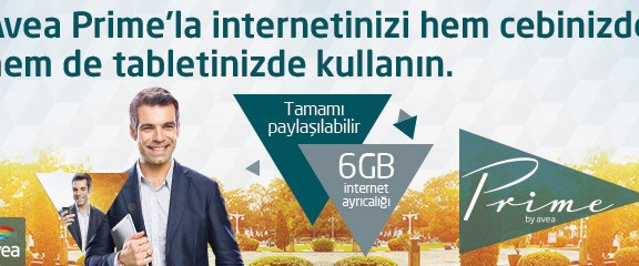 Tamamı Paylaşılır 6GB İnternet