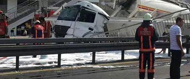 Tanker şoförü tutuklandı