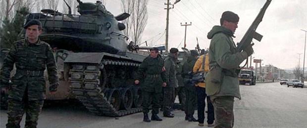 'Tankları yürüten komutan'a tutuklama