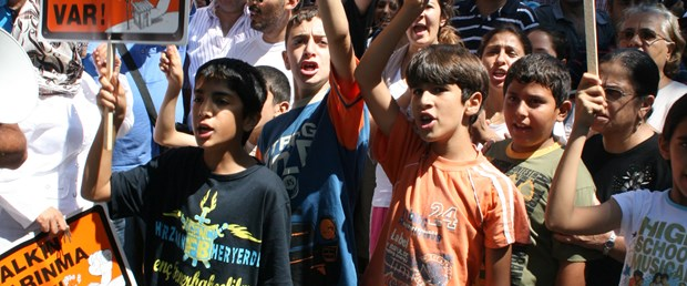 Tarabya'da 3. Boğaz Köprüsü protestosu