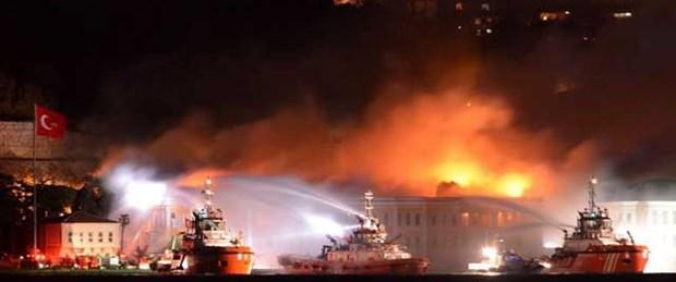 Tarihi binadaki yangının nedeni belli oldu