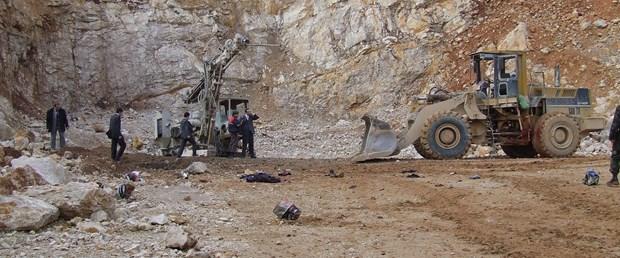 Taş ocağında patlama: 3 ölü
