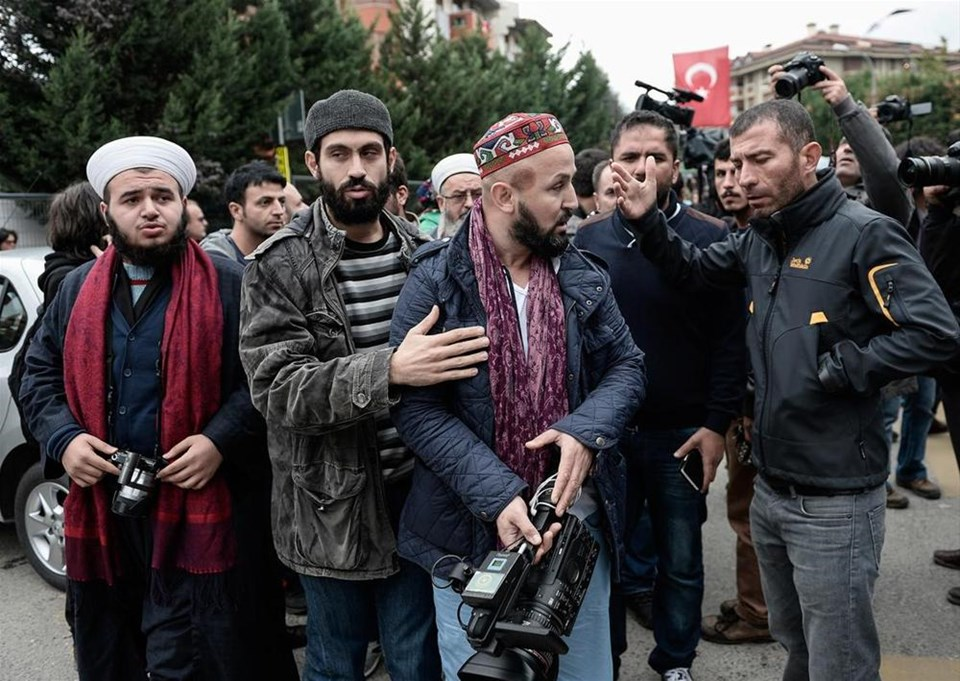 'Tebliğciler' protesto edildi