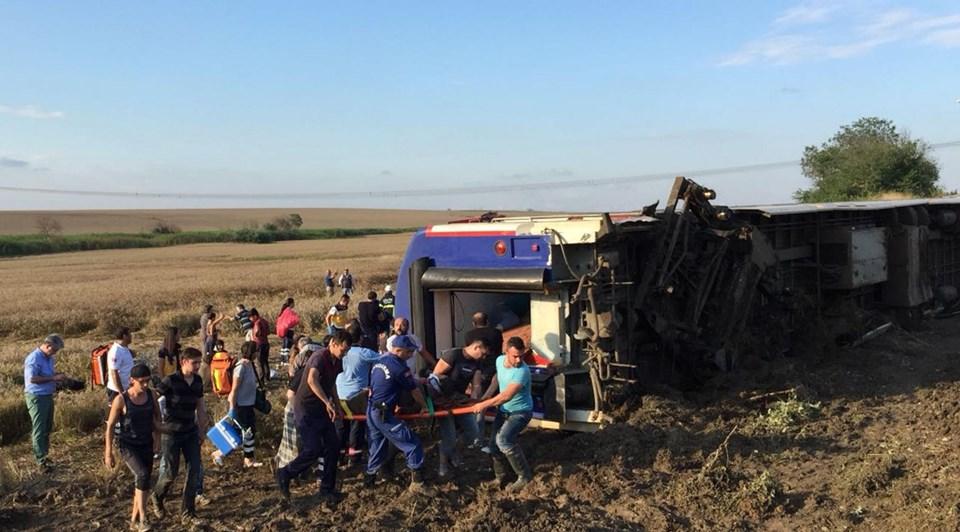 Tekirdağ çorludaki Tren Kazasında ölenlerin Kimlikleri Belli Oldu