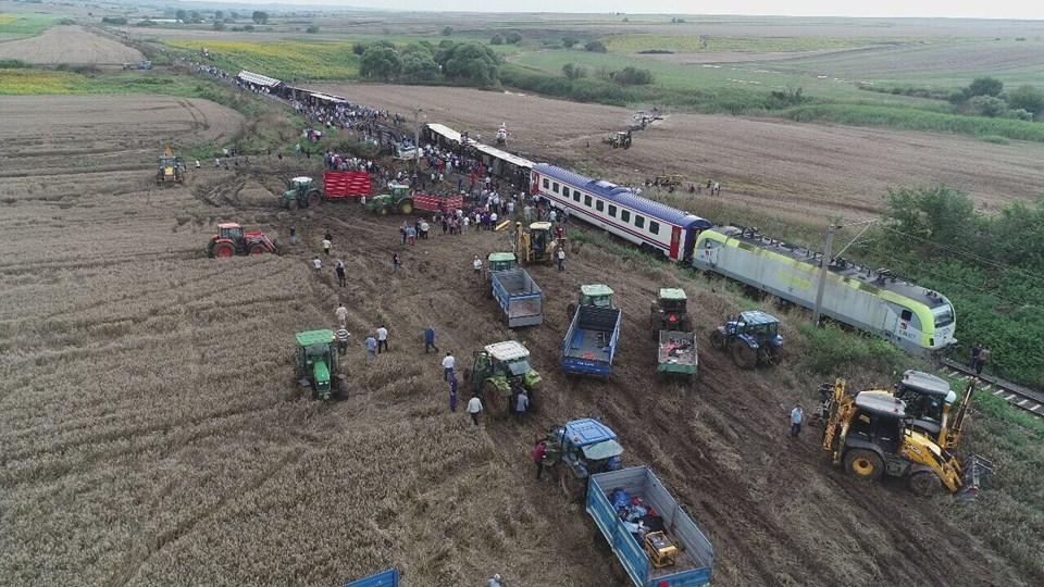 Image result for çorlu tren kazası