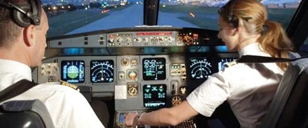 THY pilotundan Beyrut protestosu