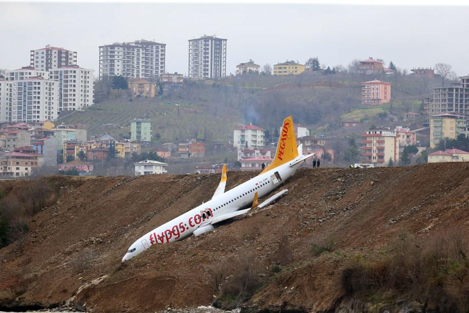 Trabzon, uçak, pist, pilot