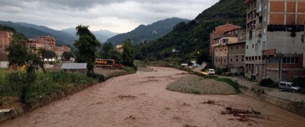 Trabzon'da sel: 1 ölü, 1 kayıp