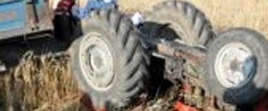 Traktör mayına çarptı: 1 ölü