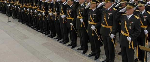 TSK: 347 general ve amiral görev yapıyor