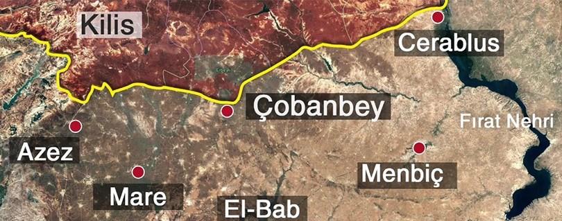 Muhalifler, Fırat'ın batı yakasında yer alan Cerablus'ta, ilçenin güneyinde Sucu Çayı'na kadar olan bölgeyi terör örgütleri IŞİDve PYD/PKK'dan arındırmıştı.