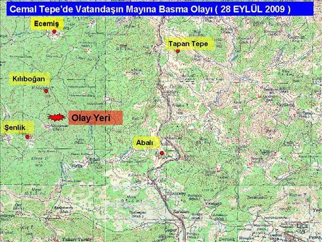 TSK'dan haritalı açıklama