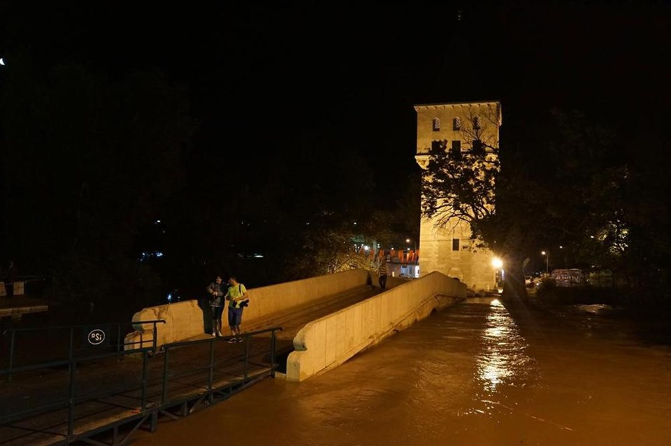 Tunca Nehri Er Meydanı'na dayandı