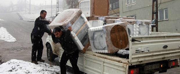 Tunceli'de yardımlar durduruldu