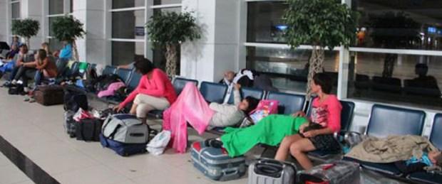 Tur şirketi iflas etti, turistler mahsur kaldı