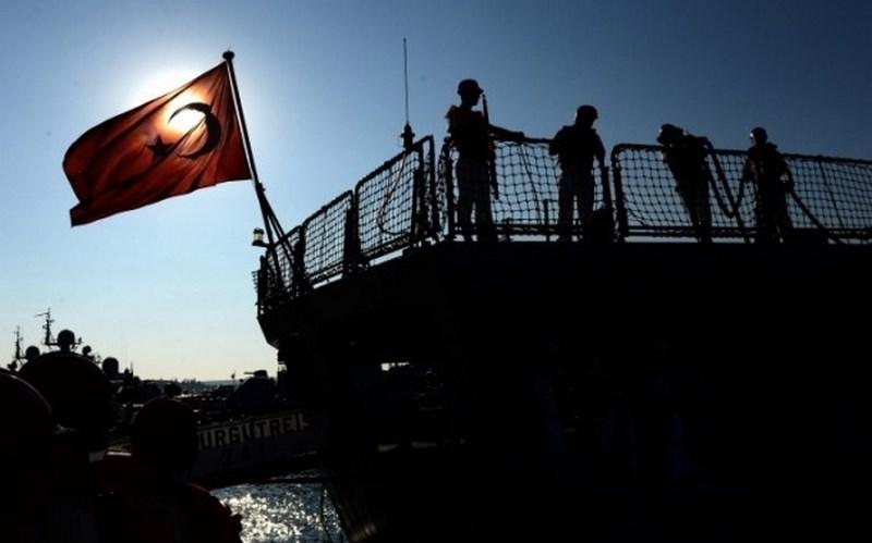 'Turgut Reis' Karadeniz'de