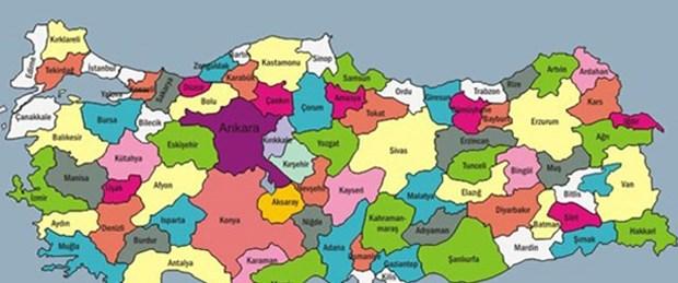 Türkiye haritası değişiyor