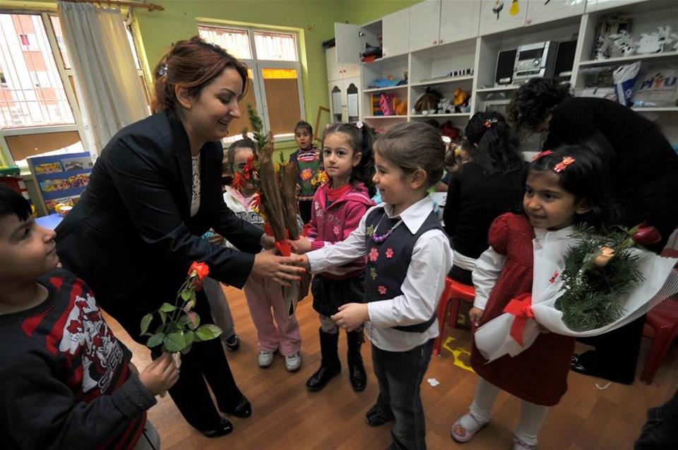 Türkiye öğretmenlerini kucakladı
