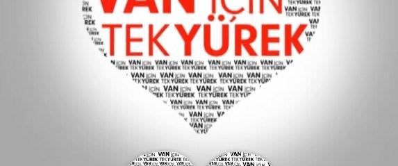 Türkiye 'Van için tek yürek' oldu