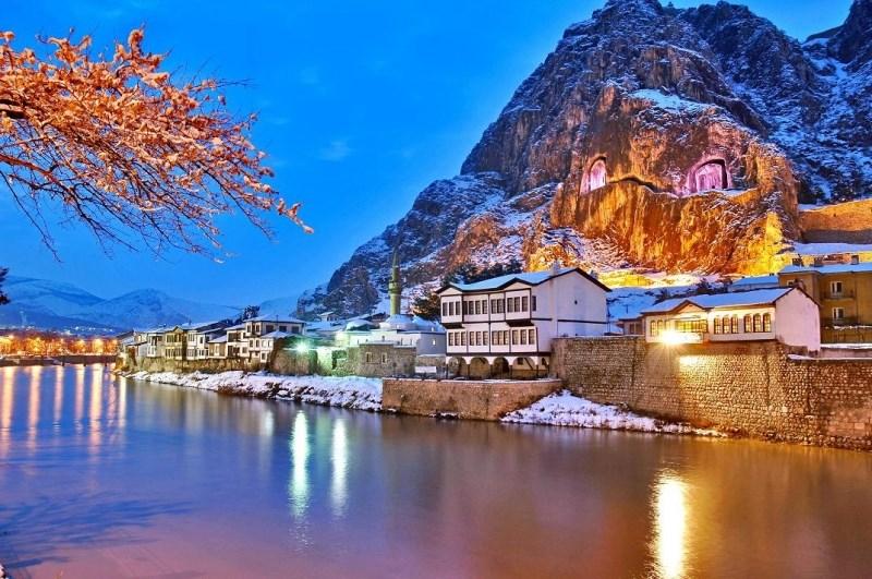 Amasya'nin nehir guzelleri