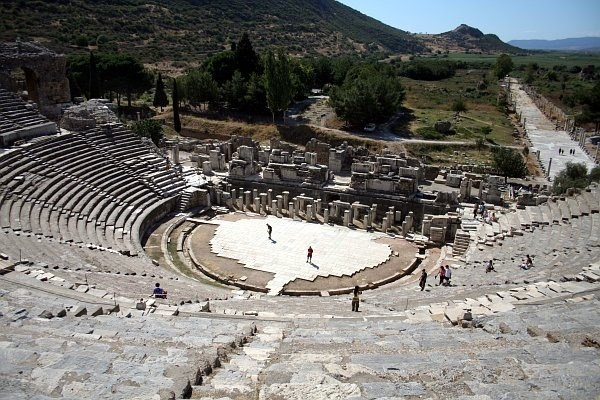 Antik kentte gizemli yolculuk