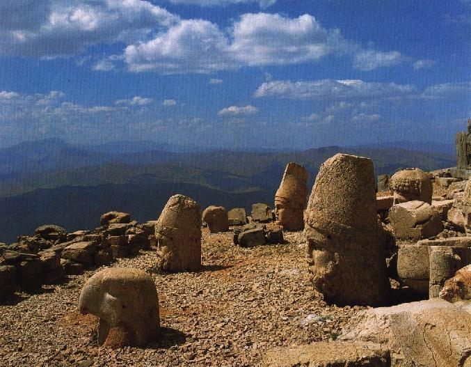 Dev heykeller mekanı Nemrut