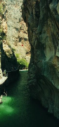 Kanyonda sürpriz yolculuk
