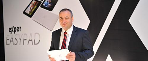 Türkiye'nin ilk tabletleri Exper'den