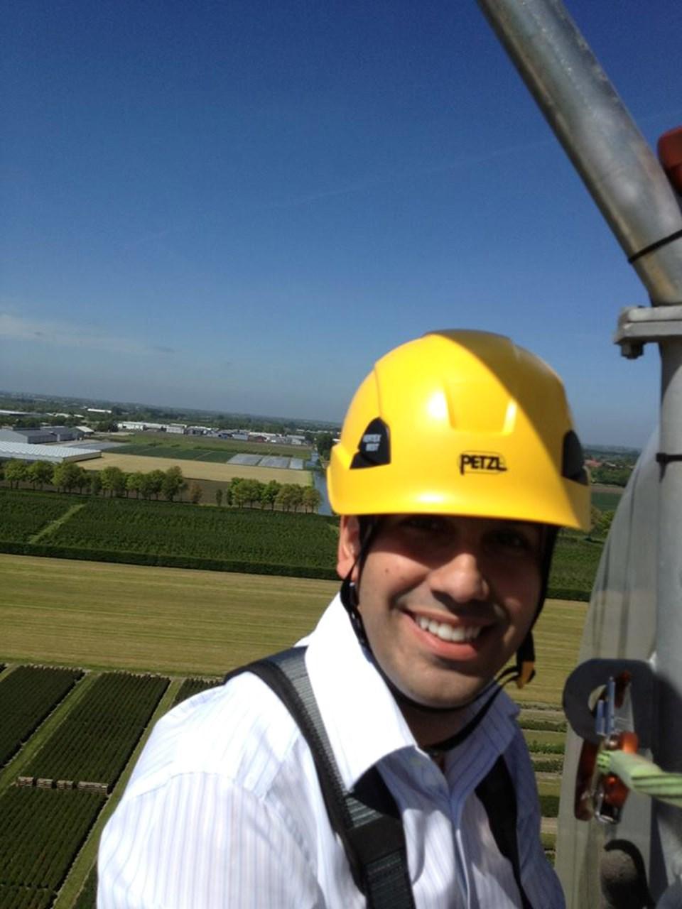 Eko Yenilenebilir Enerjiler A.Ş. şirketinin CEO'su Serhan Süzer.
