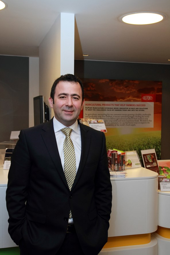 DuPont türkiye İnovasyon Merkezi Lideri Mehmet Demiray.