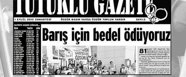 Tutuklu Gazete 'Barış' için çıktı