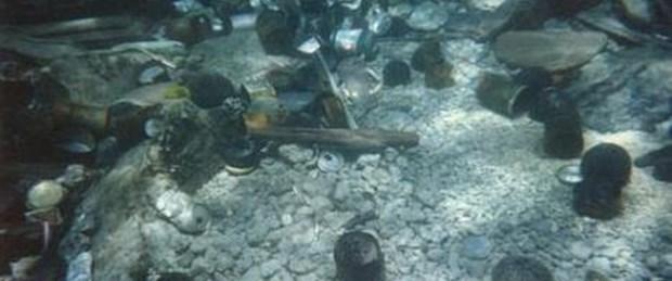 Uçağın bulunmasını çöpler zorlaştırdı
