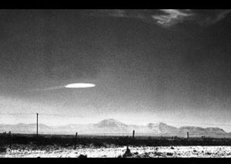 ABD'nin New Mexico eyaletinde 1964 yılında çekilen bir fotoğraf.