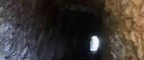 Ümraniye'de esrarengiz tünel