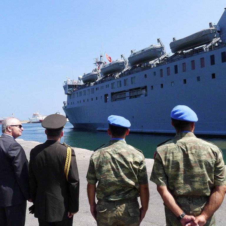 UNIFIL'de görevli Türk bölüğü Lübnan'dan ayrıldı