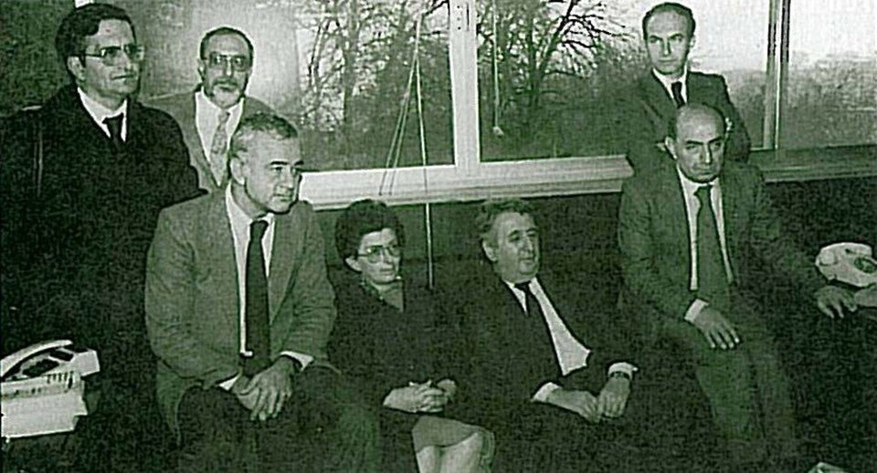 1402'liklerden Prof. Dr. Bülent Tanör, Prof. Hatemi...