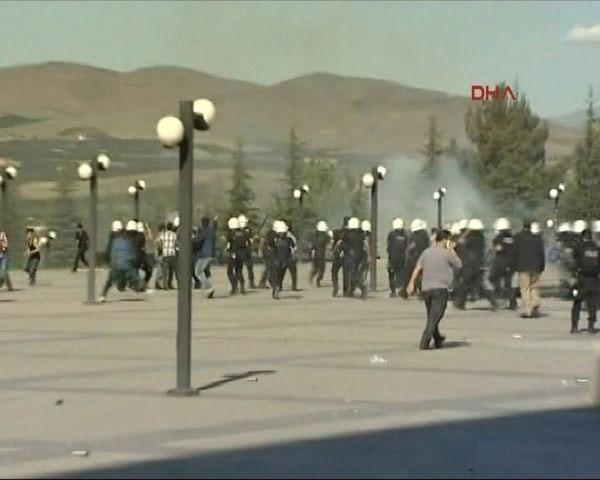 Üniversiteside BDP - Ülkücü kavgası