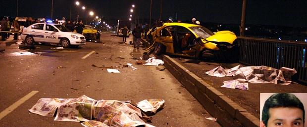 Unkapanı Köprüsü'nde kaza: 2 ölü