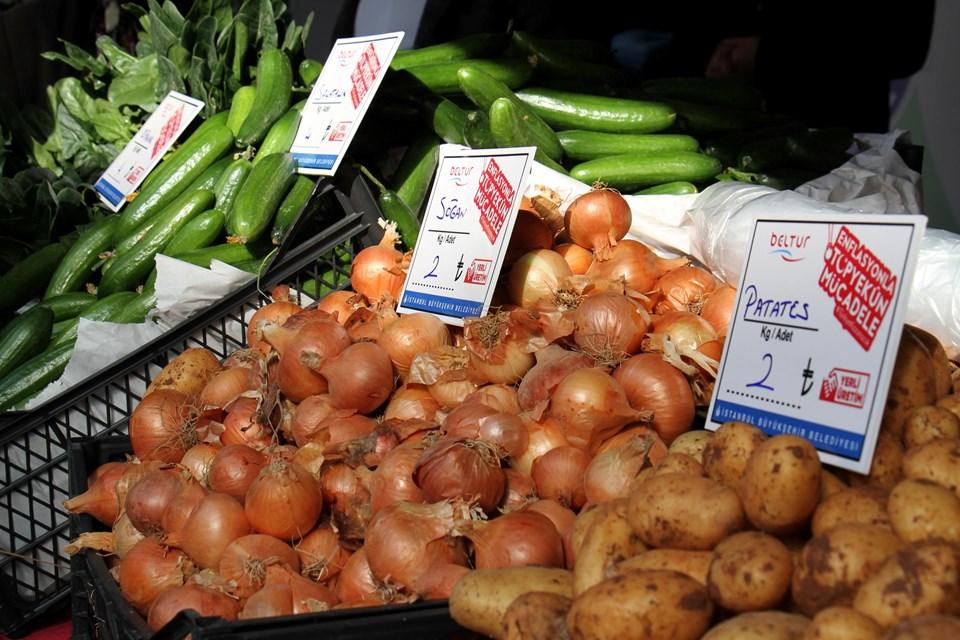Üreticiden tüketiciye doğrudan sebze satışı başladı