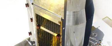 Uzayda Ay'ın oluşum simülasyonu